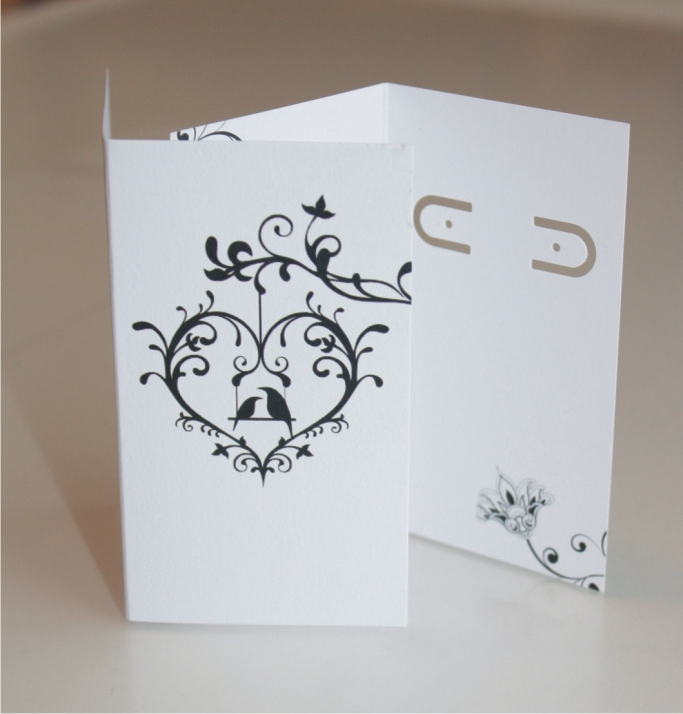 Earring card blanks boutique